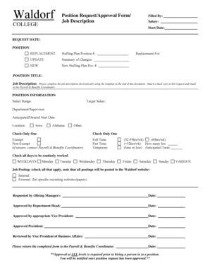 staffing request form template description template forms fillable printable