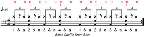 drum pattern blues how to play a blues shuffle drum beat learn drums now