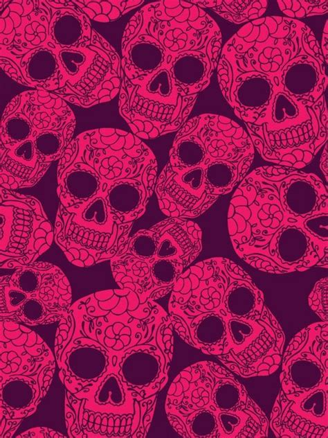 wallpaper skull pink 45 best images about wallpapers on pinterest white
