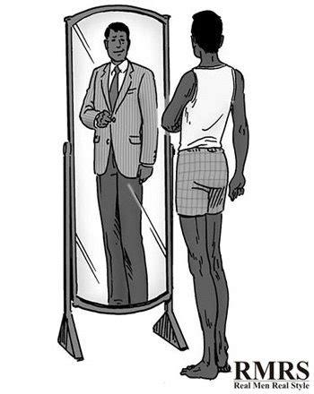 Would You Trust A Mirror For Fashion Advice by 10 Style Tips For How To Dress Sharp As A