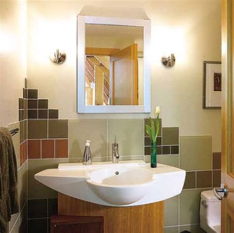 several tips to create gorgeous half bathroom designs