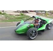 T Rex Replica Reverse Trike  YouTube