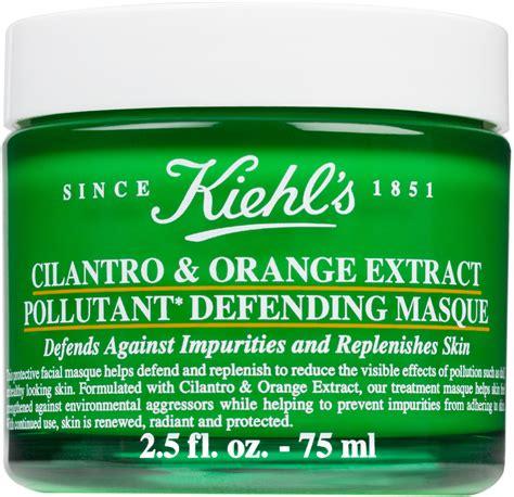Kiehl S Cilantro Orange Extract Pollutant Defending Masque 5 Ml Tr kiehl s cilantro orange extract pollutant defending