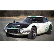 Classic Toyota 2000GT Solar Powered Electric Car