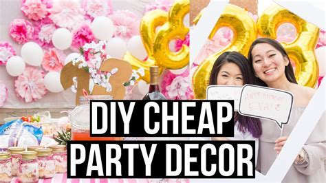 DIY Cheap and Easy Dollar Store Party Decorations   Eva
