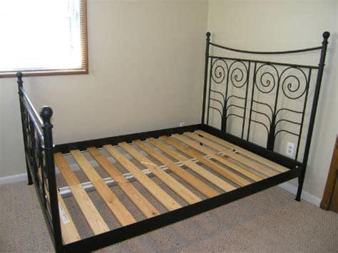 Noresund Bed Frame Ikea Noresund King Bed Frame Saanich