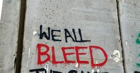 we all bleed the same color anonymous of revolution we all bleed the same colour