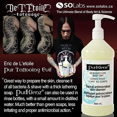 tattoo switch to lotion purklenz purtect tattoo cleanser antimicrobial aftercare
