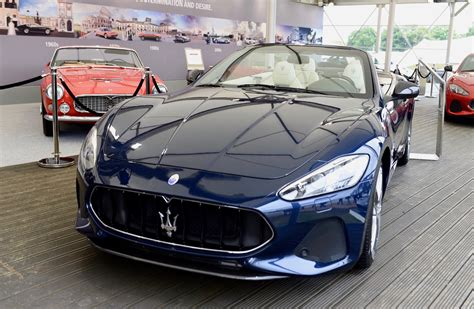 maserati convertible 2018 2018 maserati granturismo convertible debuts at goodwood