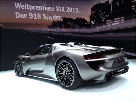 First Ride Porsche 918 Spyder   Electric Cars and Hybrid