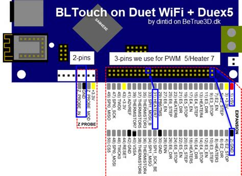 Duet Wifi Wiring Diagram 24 Wiring Diagram Images Wiring Diagrams Creativeand Co Bltouch On Duet Wifi Reprapfirmware Betrue3d