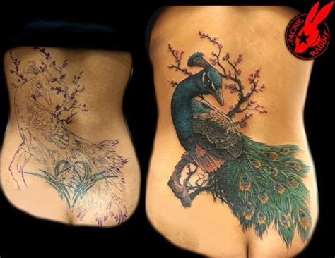 back tattoo cover ups 55 cover up tattoos impressive before after photos