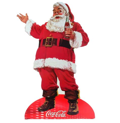Coca Cola Santa Claus 4797 by Santa Claus Coca Cola Store Display Ebth