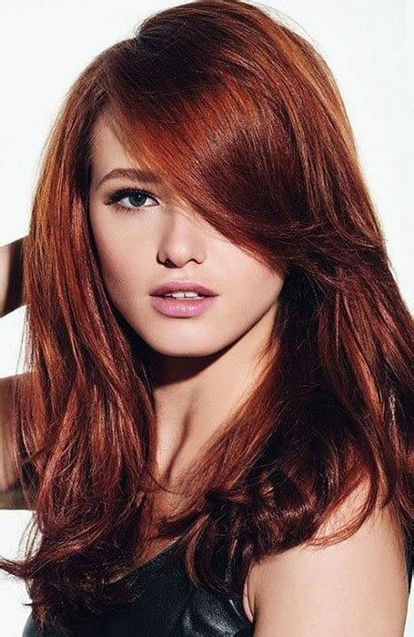 red and dark brown hairstyles brown hairs