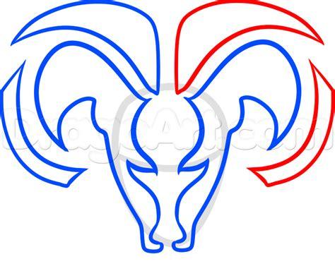 draw logo how to draw the dodge ram logo step by step symbols pop