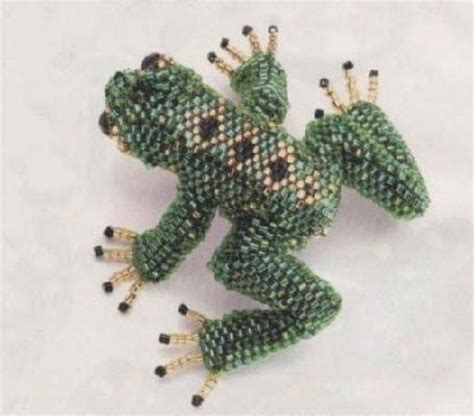 the beaded frog beaded frog tutorial pdf my of frogs