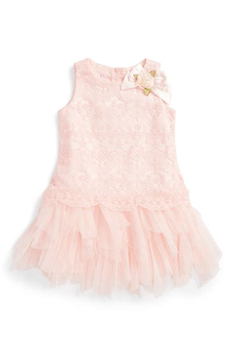 Gbs Lace Dress Baby Pink trendy lace dresses for baby for summer wedding
