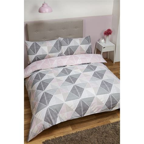 geometric bedding geometric double duvet set bedding duvet sets b m