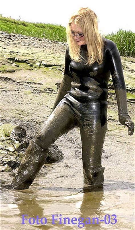shiny spandex girl in mud glamour in wellies 99 a gallery on flickr