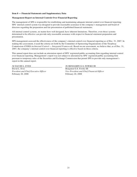 Xcel Energy Letter Of Credit xcel energy 2007 sps10 k