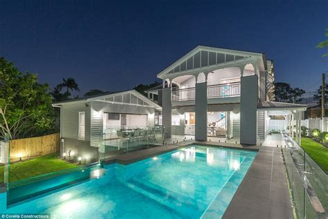 best house renovations brisbane home wins australia s best luxury renovation daily mail online