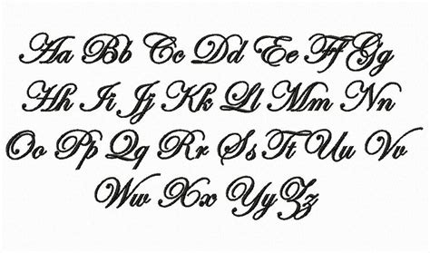 tattoo fonts edwardian script edwardian script machine embroidery font monogram alphabet