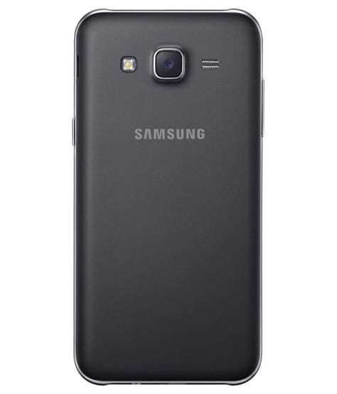 samsung galaxy j7 16gb black mobile phones at low prices snapdeal india
