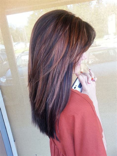 short hair cuts with the colors of carmel brown and highlights 316 best images about shag hairstyles on pinterest