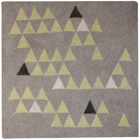 Peace Industry Rugs by Handmade Felt Rugs From Peace Industry Design Milk