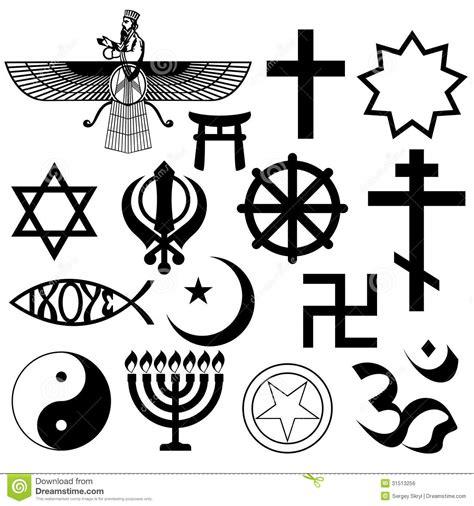 imagenes simbolos religiosos s 237 mbolos religiosos imagen de archivo libre de regal 237 as