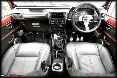 Mahindra Jeep Thar Interior Images