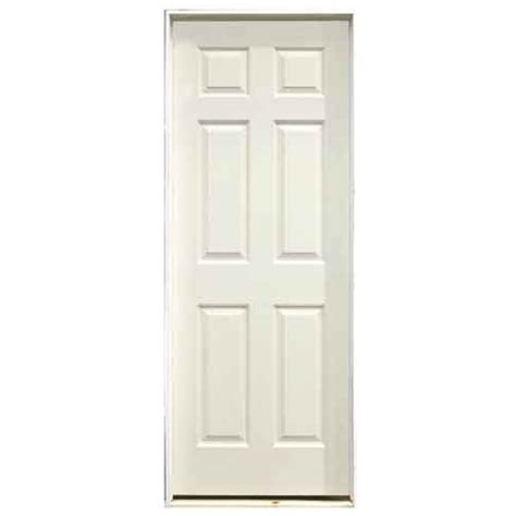 32x78 Exterior Door Metrie 6 Panel Pre Hung Interior Door 32 Quot X 78 Quot Left R 233 No D 233 P 244 T