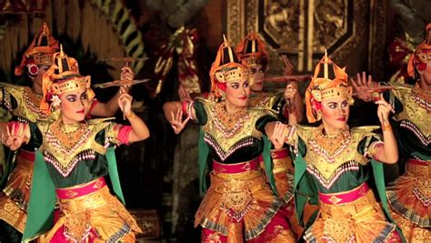 hd stock video footage two women flaunt tradition and ubud bali indonesia feb 09 balinese dancers in