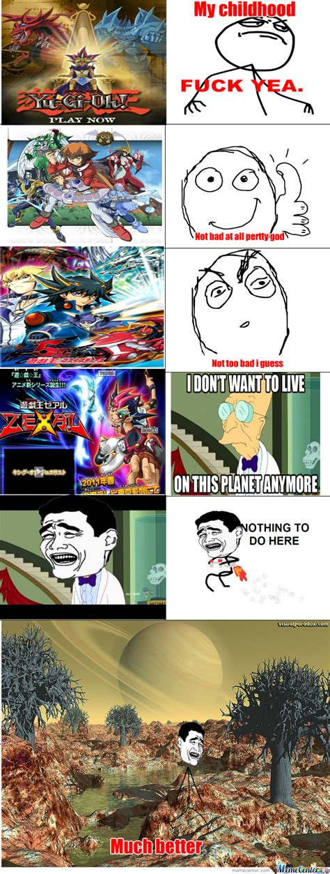 Yugioh Memes - yugioh zexal is pretty stupid by rjmememaster meme center