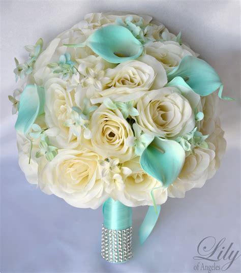 Wedding Flower Silk by Silk Flower Wedding Bouquet Silk Wedding Arrangements