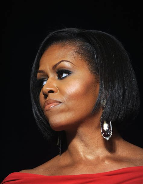 michelle obama hair loss celebrity short hairstyles for girls 2010 pictures gallery