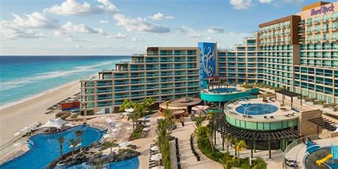 hard rock hotel cancun sunset travel