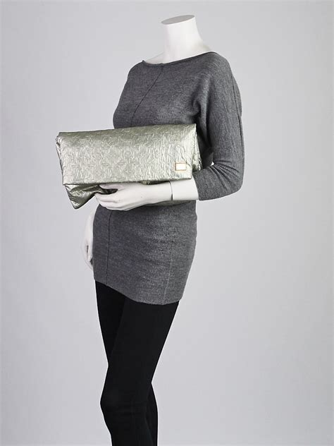 In Hilary Duffs Closet Louis Vuitton Limelight Clutch by Louis Vuitton Limited Edition Argent Monogram Limelight