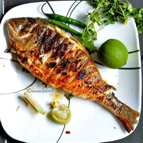 Fish Grill Recipe grilled fish indian recipe spicy grilled fish masala