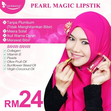 Magic Untuk Bibir Hitam nurraysa pearl magic lipstick end 3 6 2018 12 12 pm