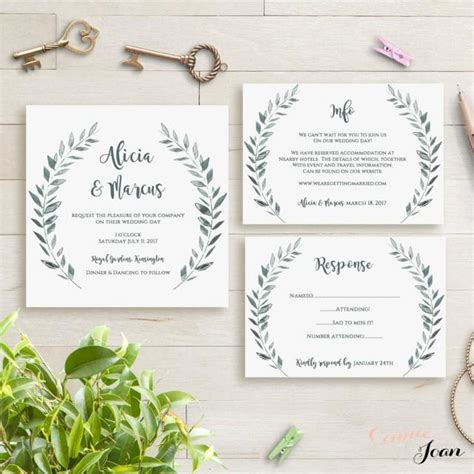 4over templates business card 2 5x3 5 wedding invitation template rustic printable invitation
