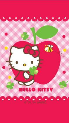 hello kitty apple wallpaper 1000 images about wallpapers hello kitty pretty things on