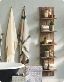 Mason Jar Bathroom Accessories by Door Turned Bathroom Wall Shelves