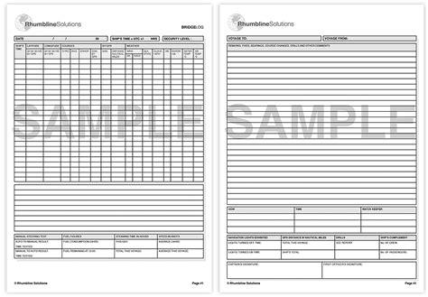 picture of log book bridge log book rhumbline solutions