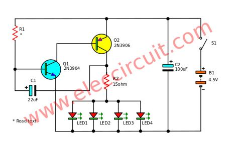 blinking led wiring diagram image collections wiring