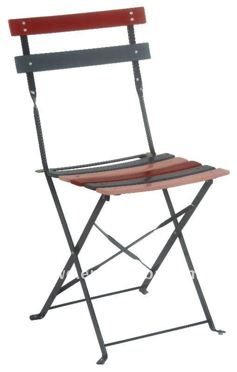 Steel Bistro Chairs 2012 Lacquered Steel Curved Slats Folding Garden Bistro Chairs Buy Folding Garden Bistro