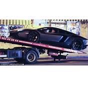 Broken Down Already Ronaldos Brand New &163200K Lamborghini Towed Away