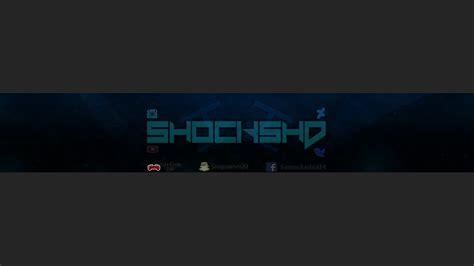 youtube channel art banner clean 2d youtube channel art banner by shockgfx on deviantart