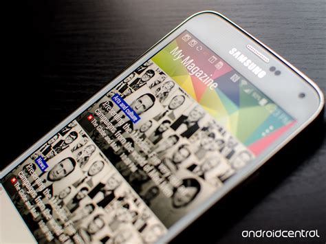 My Samsung How To Turn My Magazine On The Samsung Galaxy S5 Android Central