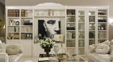 libreria classica librerie living classico contro design mondo abitare
